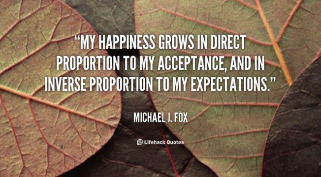 expectations fox